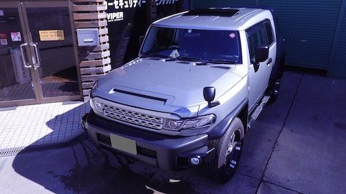 トヨタ・FJクルーザー(CBA-GSJ15W)
