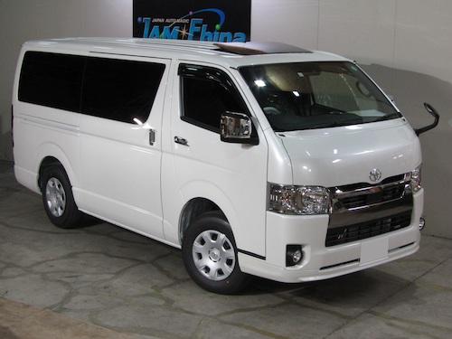 トヨタ・ハイエース S-GL(QDF-GDH206V)