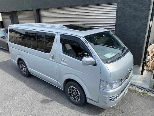 トヨタ・ハイエース(KR-KDH200V)