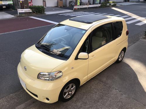 トヨタ・ポルテ(CBA-NNP10)