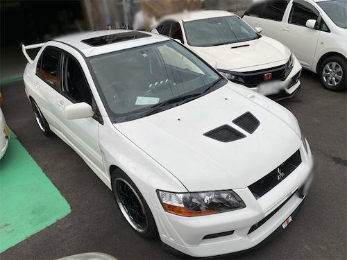 三菱・ランサーエボリューションⅦ(GH-CT9A)