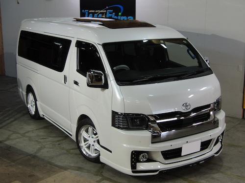 トヨタ・ハイエース ワイドミドルルーフ(QDF-GDH211K)