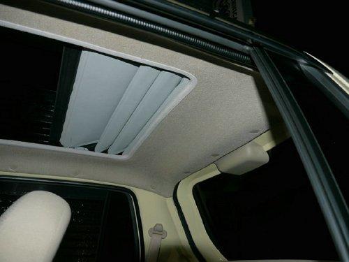 ダイハツ エッセ(esse)への後付 サンルーフ(キャンバストップ タイプ)の取付画像。ベバスト(webasto)ホランディア400デラックス(Hollandia 400 Deluxe)
