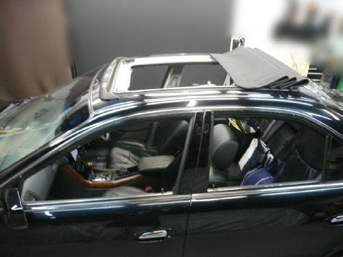 ホンダ(HONDA)・インスパイア(INSPIRE)への後付 サンルーフ(キャンバストップ タイプ)の取付画像。ベバスト(webasto)ホランディア400デラックス(Hollandia 400 Deluxe)