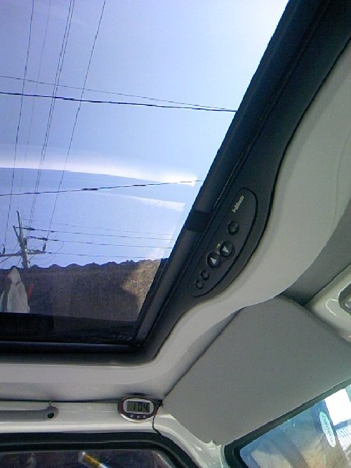 三菱(MITSUBISHI)・ミニキャブ トラック(Minicab truck)への後付サンルーフ(sunroof)取付画像。ベバスト(webasto)ホランディア300デラックス ミディアム(Hollandia 300 Deluxe Medium)11