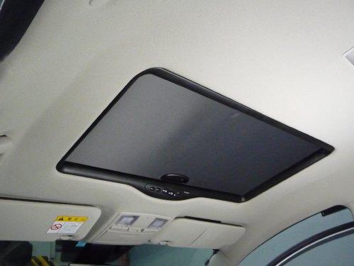 マツダ(MAZDA)・アテンザスポーツワゴン(ATENZA Sport Wagon)への後付サンルーフ取付画像。ベバスト(webasto)ホランディア300デラックスラージ(Hollandia 300 Deluxe Large)トリムシェル巻込み仕上。sunroof_05