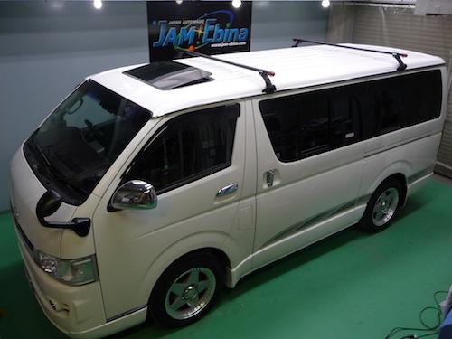 トヨタ・ハイエース(KDH201V)