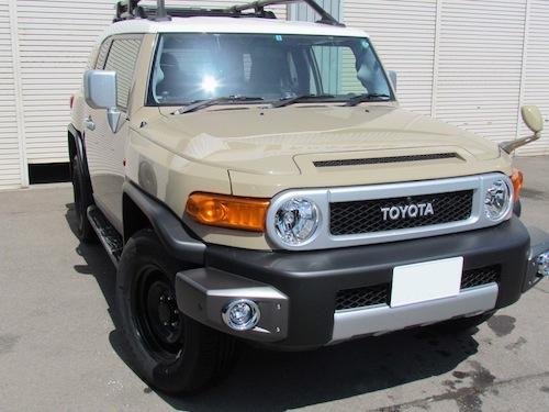 トヨタ・FJクルーザー(GSJ15W)