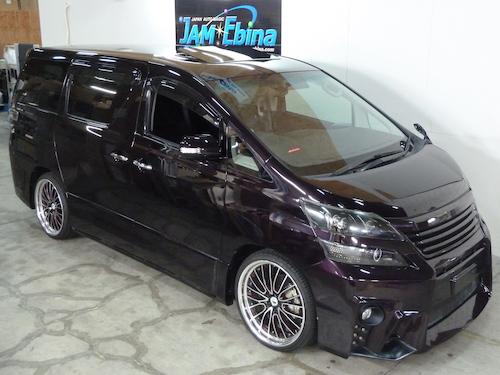 トヨタ ヴェルファイア(DBA-ANH20W)