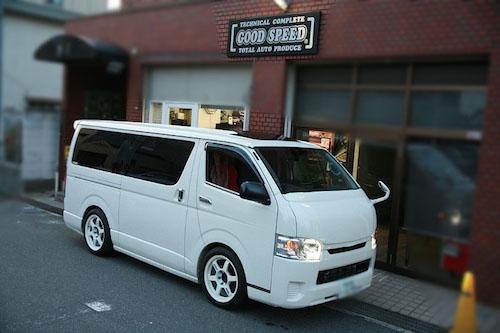 トヨタ・ハイエース(型式未確認)