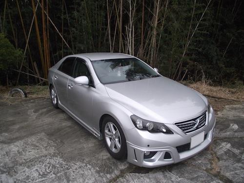 トヨタ・マークX(GRX130)