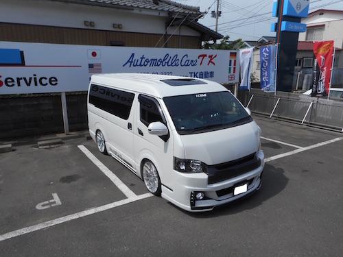 トヨタ・ハイエース(LDF-KDH211K)