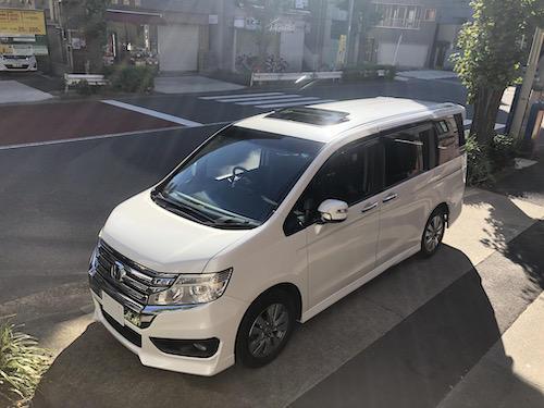 ホンダ・ステップワゴンスパーダ(DBA-RK6)