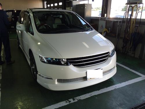 ホンダ・オデッセイ(DBA-RB2)