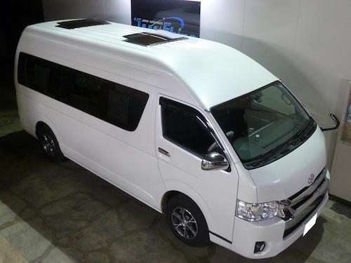 トヨタ・ハイエース グランドキャビン(CBA-TRH224W)