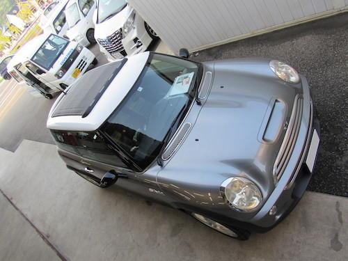 BMW・ミニ クーパーS(GH-RE16)