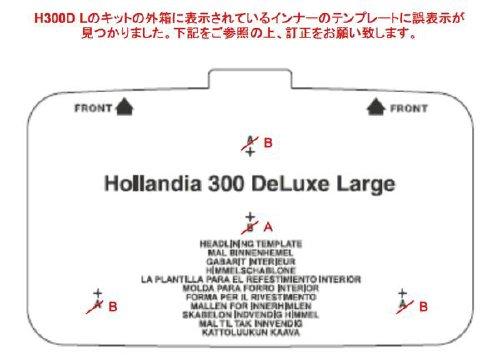 H300DLインナーテンプレートの誤表示のお知らせ