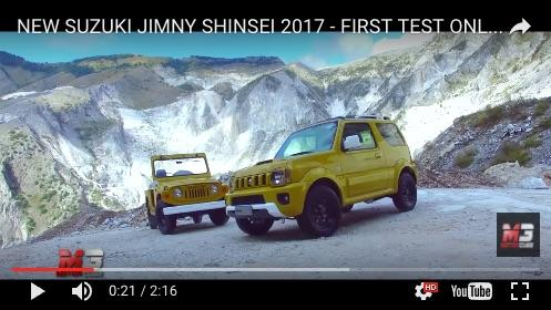 ジムニー 動画(Italy )